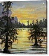 The Bayou Acrylic Print