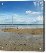 The Beach At Helnaes Acrylic Print