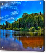 The Beach At Singing Waters Campground Acrylic Print