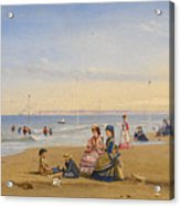 The Beach At Trouville Acrylic Print
