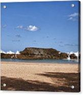 The Beach At Vega Baja Puerto Rico Acrylic Print