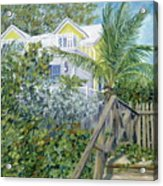 The Beach House Acrylic Print