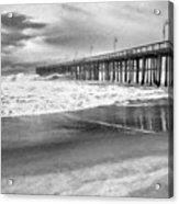 The Beach Pier Acrylic Print