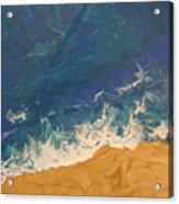 The Beach - Tac Acrylic Print