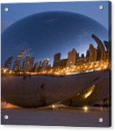 The Bean - Millenium Park - Chicago Acrylic Print