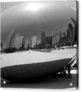 The Bean B-w Acrylic Print