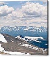 The Beartooth Mountains Acrylic Print