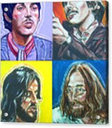 The Beatles - Montage Acrylic Print