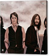 The Beatles 3 Acrylic Print
