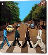 The Beatles Abbey Road Acrylic Print
