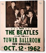 The Beatles And Little Richard Poster Collection 6 Acrylic Print