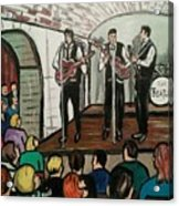 The Beatles At The Cavern Club Liverpool Acrylic Print
