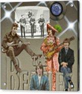 The Beatles Acrylic Print by Marshall Robinson