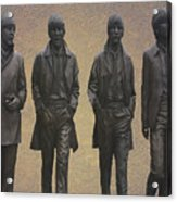 The Beatles N F Acrylic Print
