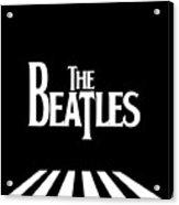 The Beatles No.03 Acrylic Print by Caio Caldas