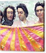 The Beatles. Watercolor Acrylic Print