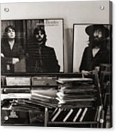 The Beatles Yesterday Acrylic Print by Anna Payne