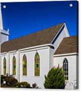 The Beautiful Bodega Church St. Teresas Of Avila  Acrylic Print