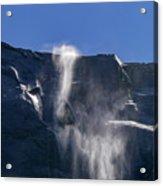 The Beautiful Bridalveil Falls Of Yosemite Acrylic Print