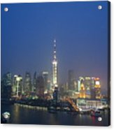 The Beautiful Bund, Shanghai, China Acrylic Print