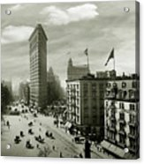 The Beautiful Flatiron Building Circa 1902 Acrylic Print