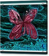The Beauty Of A Butterfly's Spirit Acrylic Print