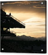 The Beauty Of Baseball In Colorado Acrylic Print