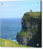 The Beauty Of Ire'land's Cliff's Of Moher In County Clare Acrylic Print