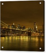 The Beauty Of Manhattan Acrylic Print