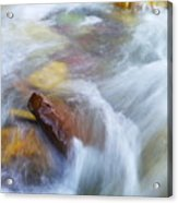 The Beauty Of Silky Water Acrylic Print