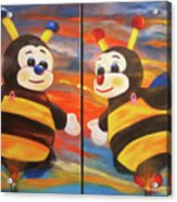 The Bees, Joey And Lilly Acrylic Print