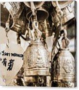 The Believe In Bells Acrylic Print