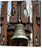 The Bell Of The Tall Ship Acrylic Print