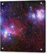 The Belt Stars Of Orion Acrylic Print by Robert Gendler