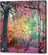 The Bench That Dreams Acrylic Print