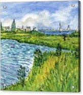 The Berkeley Island Pond Acrylic Print