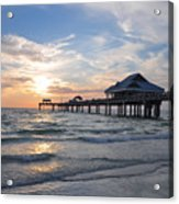 The Best Sunsets At Pier 60 Acrylic Print