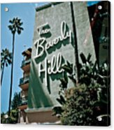 The Beverly Hills Acrylic Print