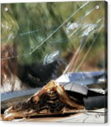 The Bible Still On The Dashboard 1 Acrylic Print