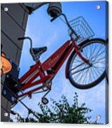 The Bicycle Thief - Halifax Acrylic Print