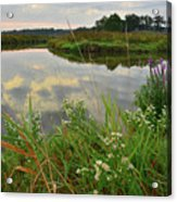 The Big Bend Of The Nippersink Acrylic Print