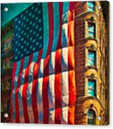 The Big Big Flag Acrylic Print