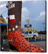 The Big Boot Acrylic Print