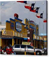 The Big Texan In Amarillo Acrylic Print