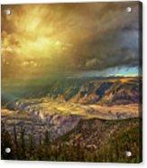 The Big Valley Acrylic Print