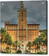 The Biltmore Hotel Acrylic Print