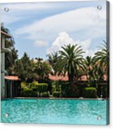 The Biltmore Pool Acrylic Print