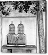 The Bird Cage Palm Springs Acrylic Print