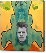 The Birth Of Rorschach The Inventor Of The Inkblot Test Acrylic Print
