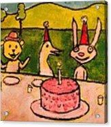 The Birthday Party Acrylic Print